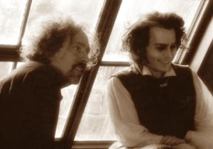 johnny-and-tim-burton